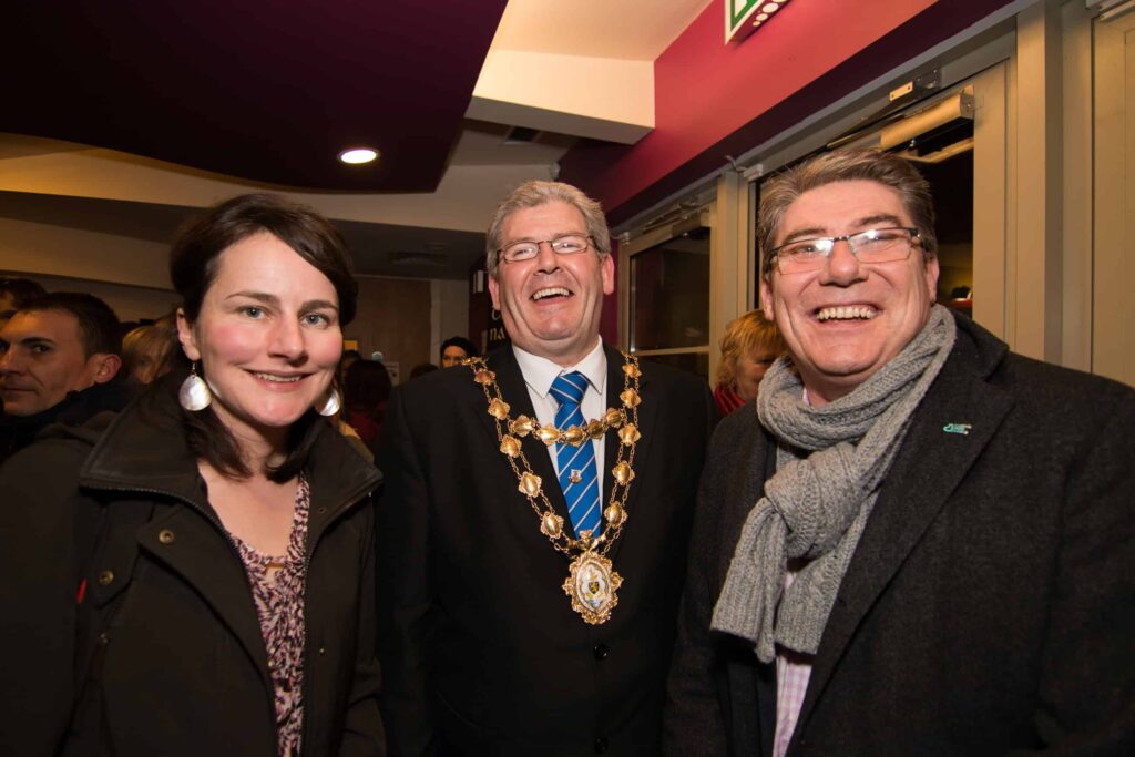 Mary, Mayor & Gary McMahon