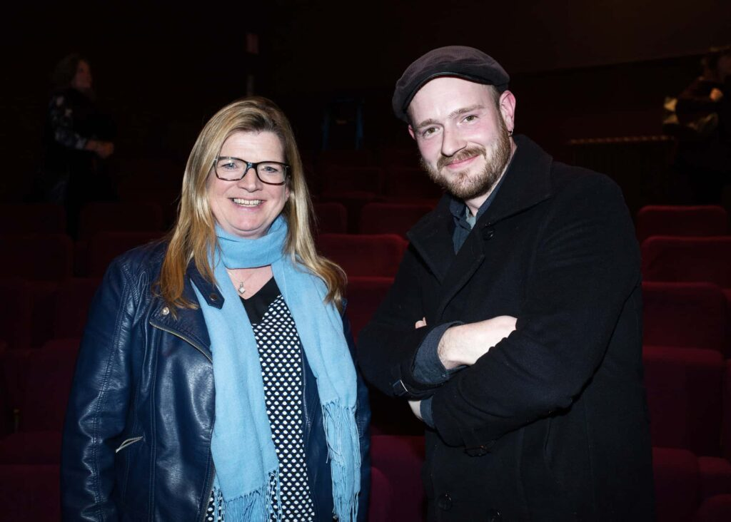 NO REPRO FEE / Press Use Splanc! 2016 short films commissioned by the Arts Council and TG4, in partnership with the Galway Film Centre, which will be broadcast on TG4 over the Easter weekend were launched last night in the IFI Pictured: L-R Proinsias Ni Ghrainne and Tom Flanagan Mandatory Credit: 1IMAGE/Bryan Brophy Following the premiere at the Irish Film Institute on 14th of March, seven of the Splanc! 2016 short films commissioned by the Arts Council and TG4, in partnership with the Galway Film Centre, will be broadcast on TG4 over the Easter weekend. This is a special edition of the Irish-language documentary scheme in which film artists provide their creative responses to the legacy of 1916 in the arts in Ireland Media Contact:  Linda Ní Ghríofa  linda.ni.ghriofa@tg4.ie 091-505228  1IMAGE PHOTOGRAPHY Studio: +353 1 493 9947 / Mob: +353 87 246 9221 1image.ie
