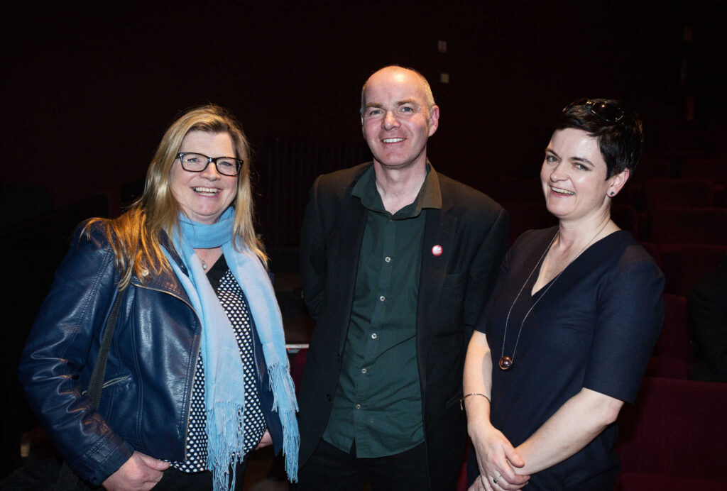 NO REPRO FEE / Press Use Splanc! 2016 short films commissioned by the Arts Council and TG4, in partnership with the Galway Film Centre, which will be broadcast on TG4 over the Easter weekend were launched last night in the IFI Pictured: L-R Proinsias Ni Ghrainne TG4, Declan Gibbons, Galway Film Centre and Fionnuala Sweeney, Arts Council Mandatory Credit: 1IMAGE/Bryan Brophy Following the premiere at the Irish Film Institute on 14th of March, seven of the Splanc! 2016 short films commissioned by the Arts Council and TG4, in partnership with the Galway Film Centre, will be broadcast on TG4 over the Easter weekend. This is a special edition of the Irish-language documentary scheme in which film artists provide their creative responses to the legacy of 1916 in the arts in Ireland Media Contact:  Linda Ní Ghríofa  linda.ni.ghriofa@tg4.ie 091-505228  1IMAGE PHOTOGRAPHY Studio: +353 1 493 9947 / Mob: +353 87 246 9221 1image.ie