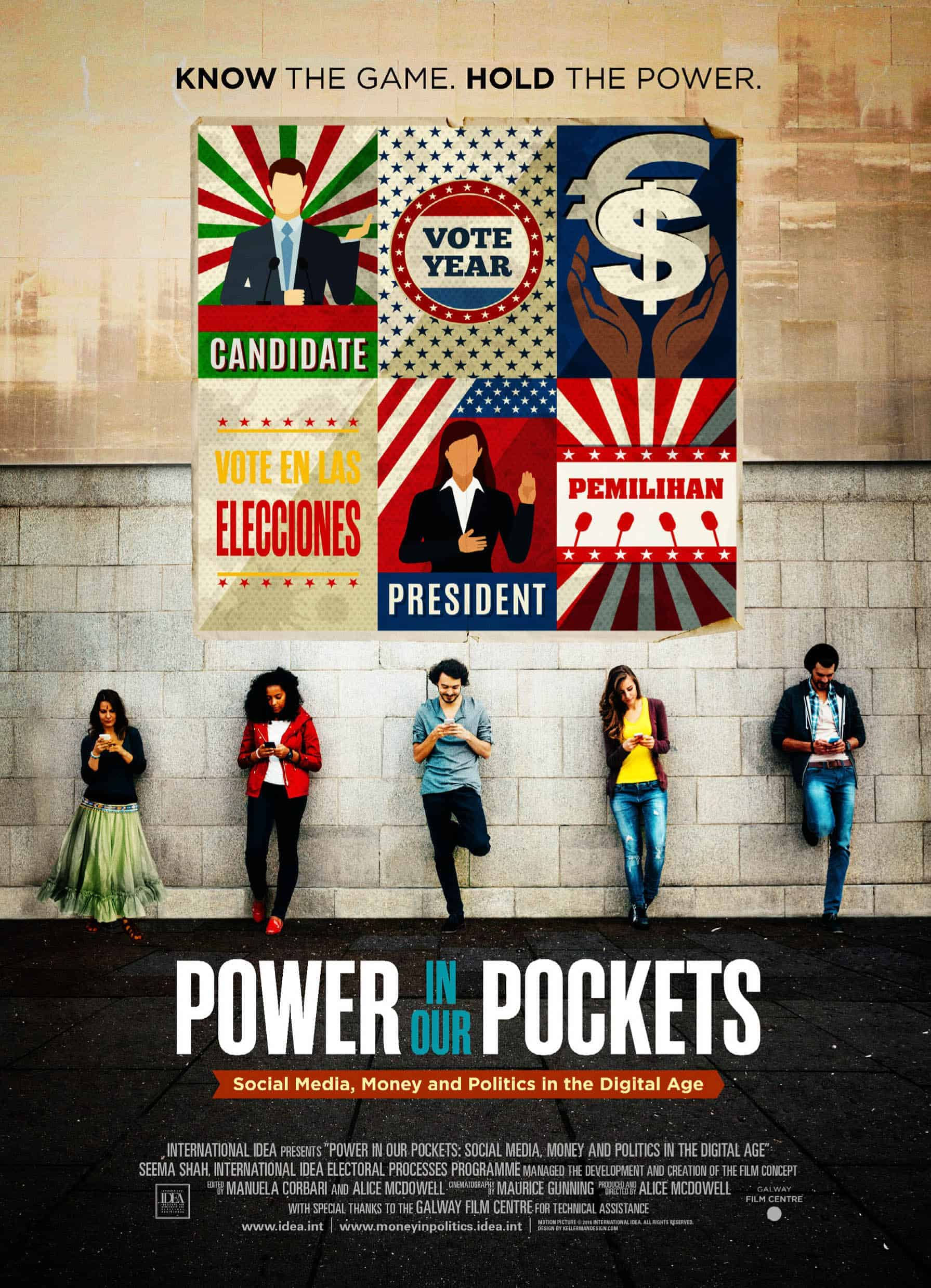 International idea power in our pockets world premiere in piop invitation dc poster stopboris Images