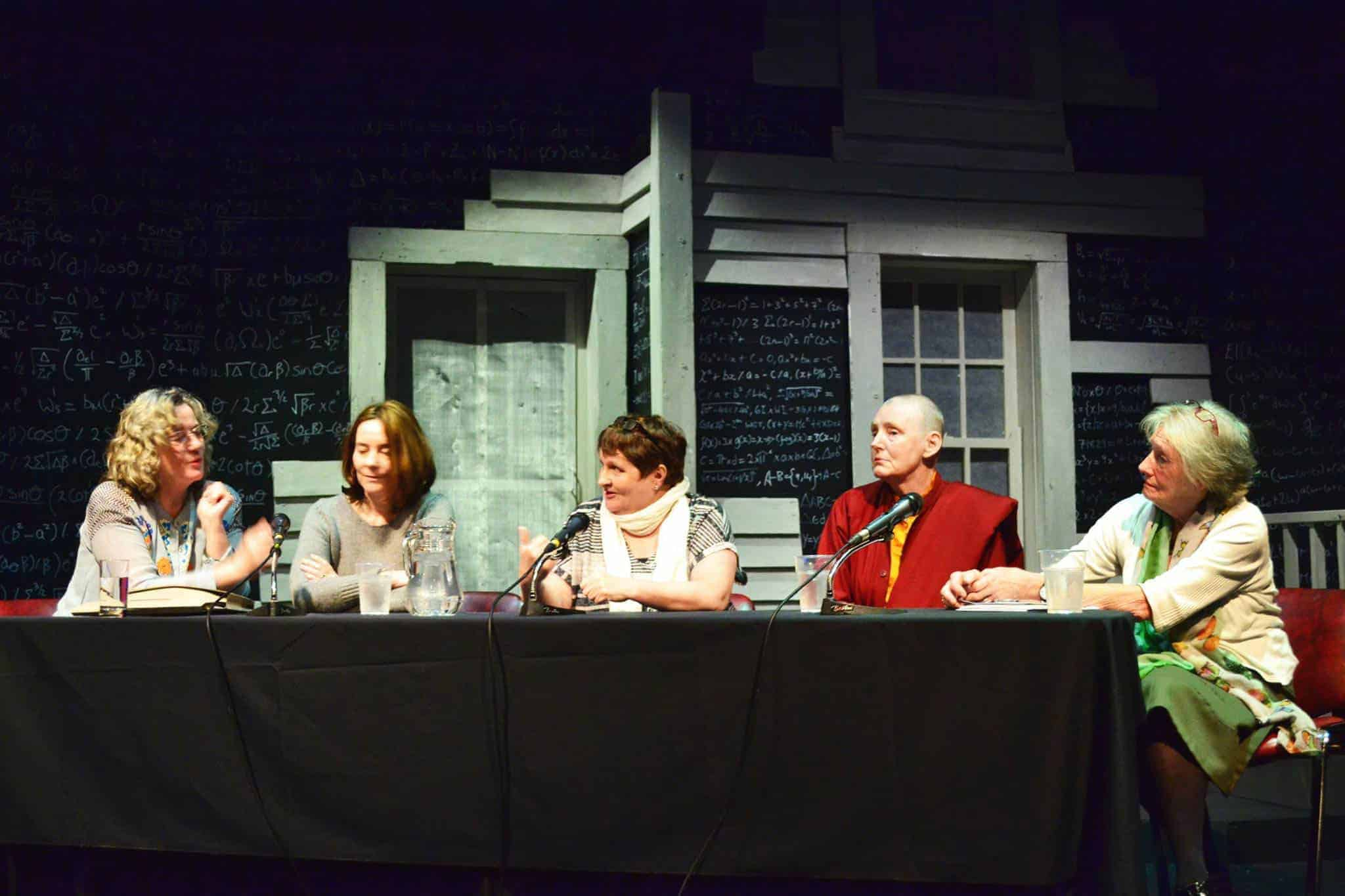 100 Years of Cinema -Goup discussion - Margo Harkin, Hilary Dully, Anne Crilly, Pat Murphy & Lelia Doolan