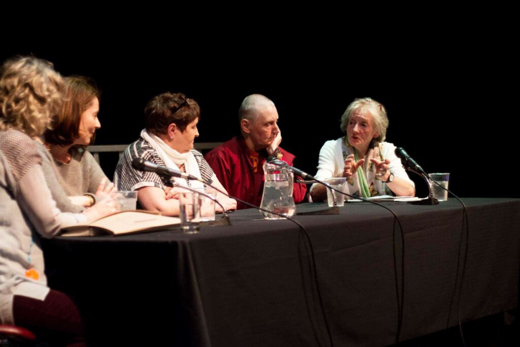 100 Years of Cinema - Group Discussion - Margo Harkin, Hilary Dully, Anne Crilly, Pat Murphy & Lelia Doolan