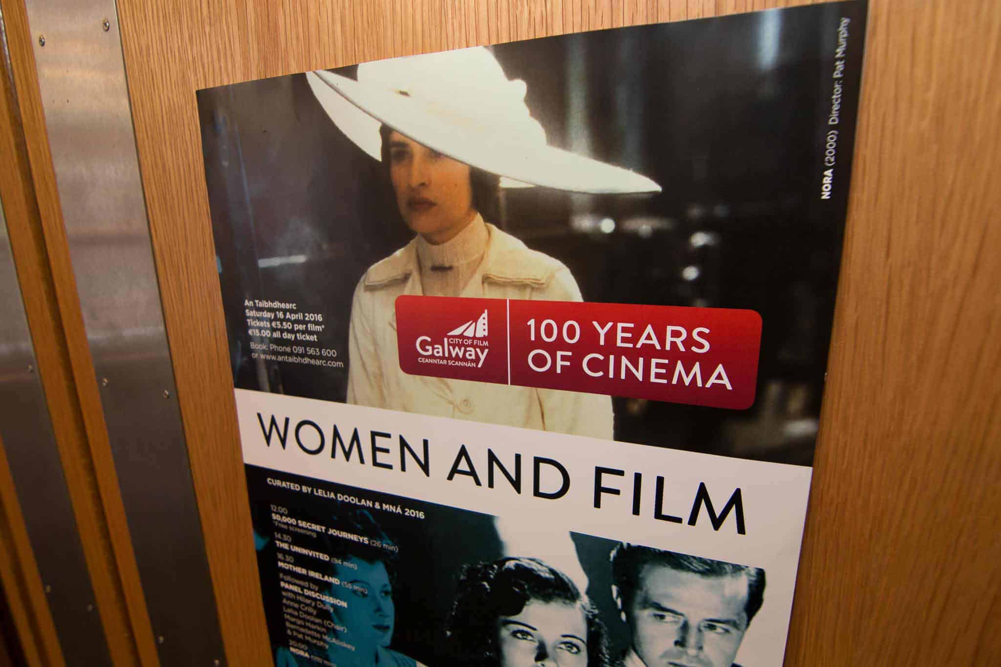 100 Years of Cinema- Woman and Fillm poster