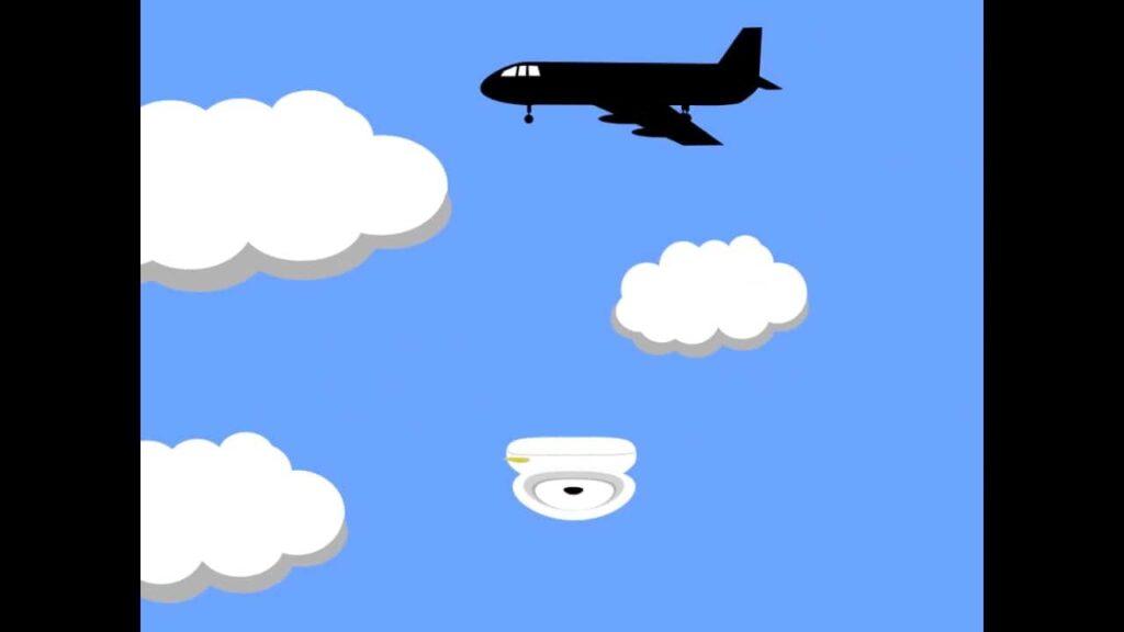 Plane still