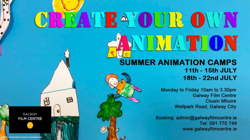 ANIMATION Summer poster #1