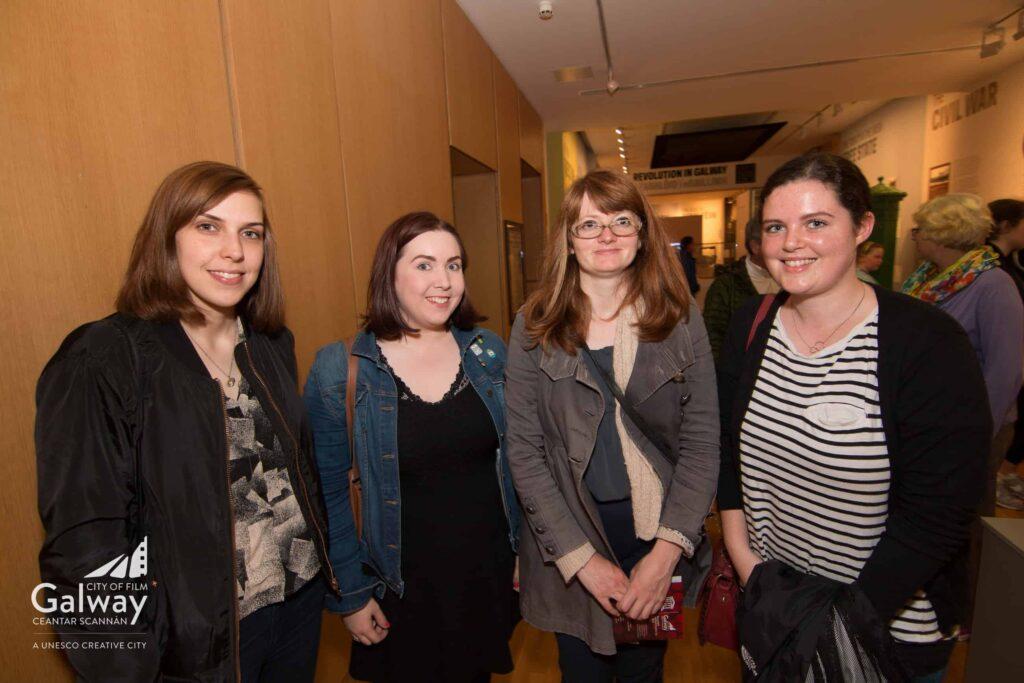 Left to right - Anna Moran, Rachel Kenny, Neasa O'Grady, Amy Forde