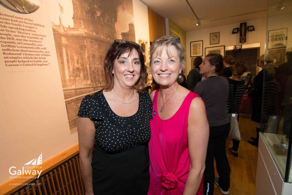 Left to right - Caroline Feeney, Lorraine Courtney