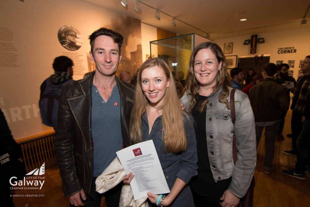 Left to right -  Graham Cantwell, Amy Joyce Hastings, Jessica Curtis