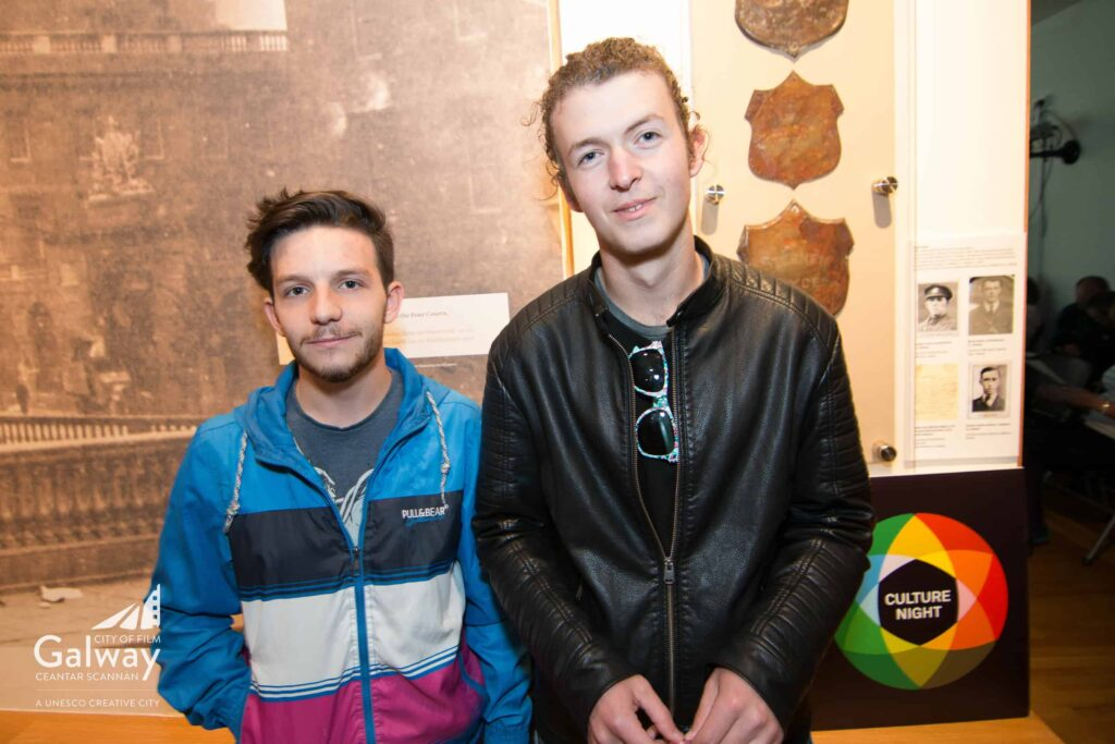 Left to right - Luca Melis, Tiernan Bynes