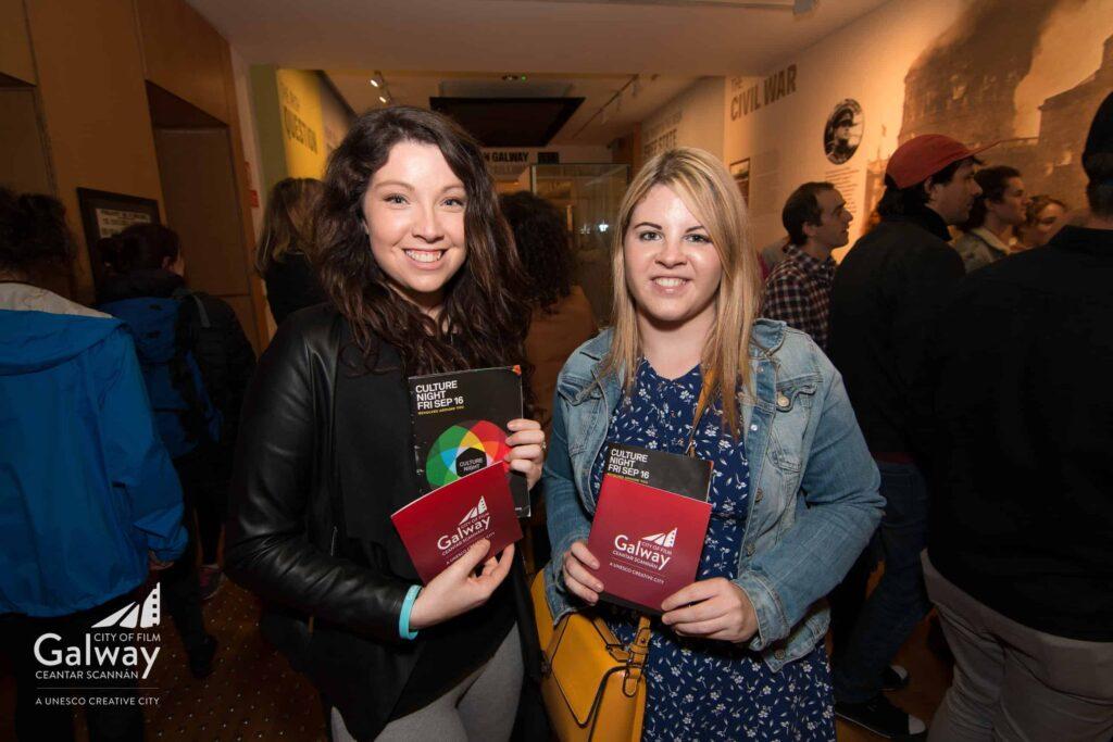 Left to right - Oryana Farrell Hickey, Aisling McDonald
