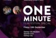 One Minute Culture Night - Screening Times