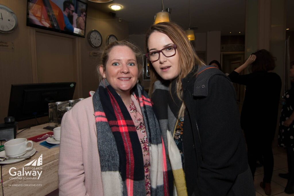 L-R - AIleen McCauley, Jade Murphy - Irish Film Board