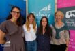 L-R- Caroline Drab, Ann Lundberg,  Niamh Heery, Lisa Nyed