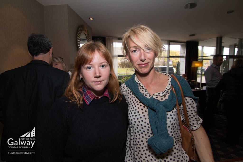 L-R - Matilda Kensingsonn, Lisa Nyed