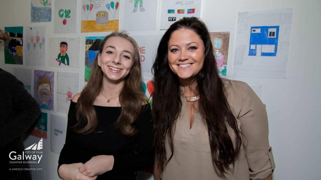 Louise O'Gallagher & Charlotte Sne Hoen