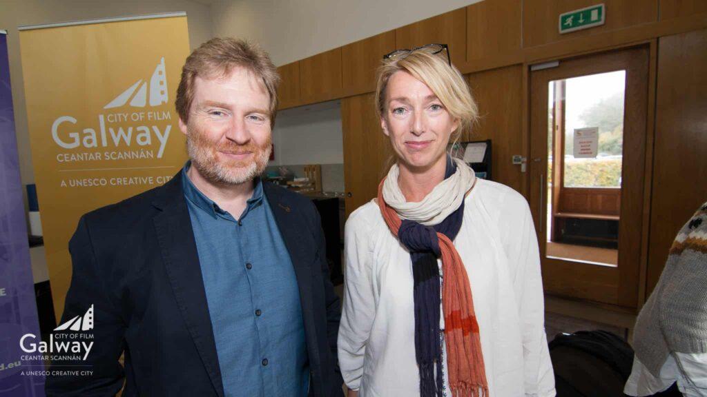Paddy Tobin & Lisa Nyed