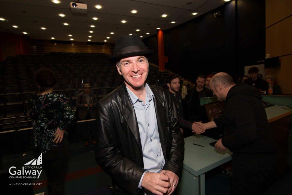 Declan in hat