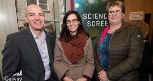 L-R_Declan Gibbons, Margie McCarthey, Cathey Foley