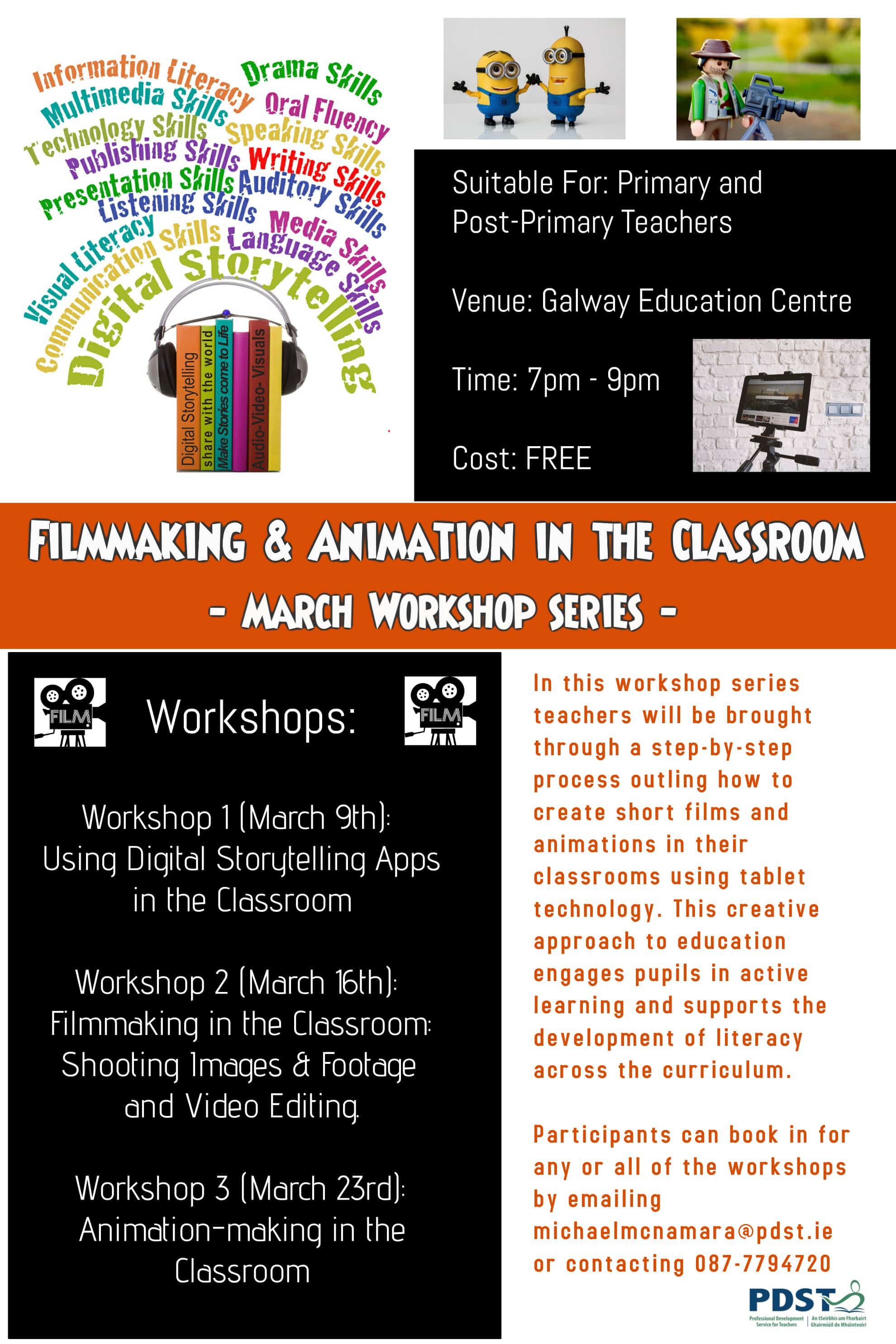 Filmmaking Animation In The Classroom Workshop For Primary