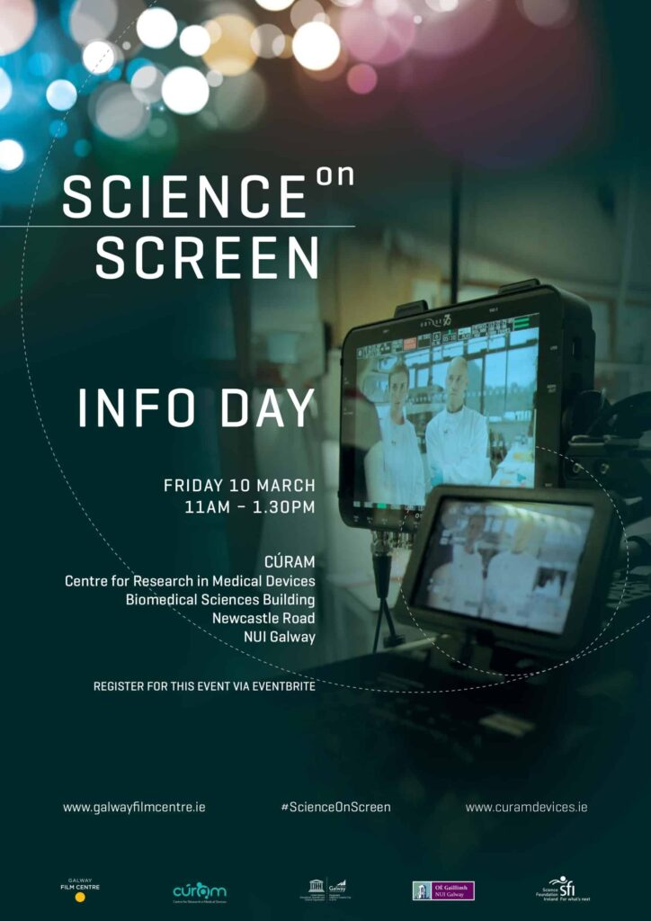 Science on Screen poster