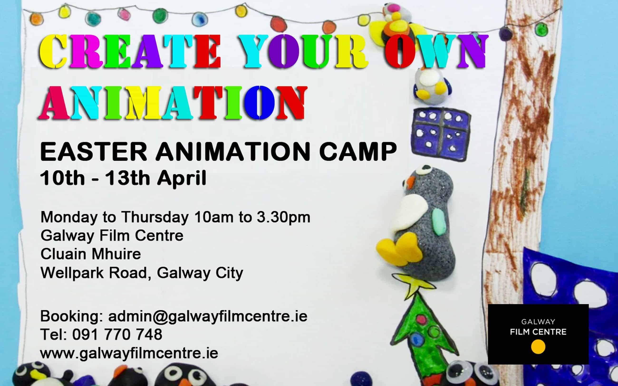 Poster design galway - Easter Camp 2017 Poster To Use
