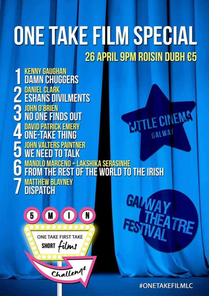 One Take Films Poster(1)