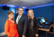 Teresa Mannion, RTE Regional Reporter and Pat McGrath RTE Western Correspondent and Dee Forbes, RTE DG at the opening of the New RTE Western Regional TV and Radios Studios at GMIT. Photo:Andrew Downes, xposure
