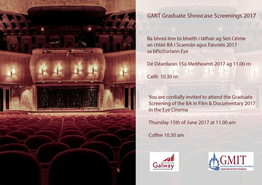 GMIT Graduate Showcase Screening 2017