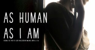 As Human As I Am Poster Web Version
