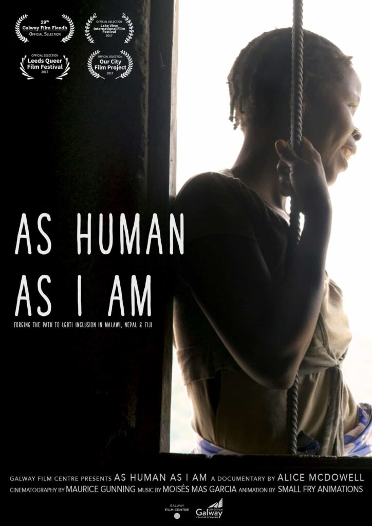 As Human As I Am Web Poster