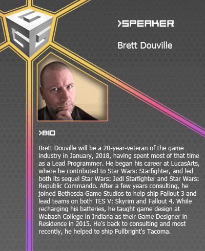 Brett Douville website card