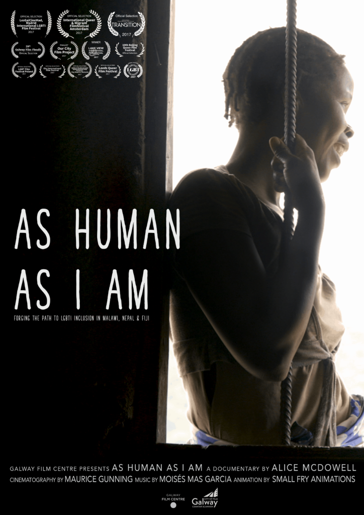 As Human As I Am Poster October 2017