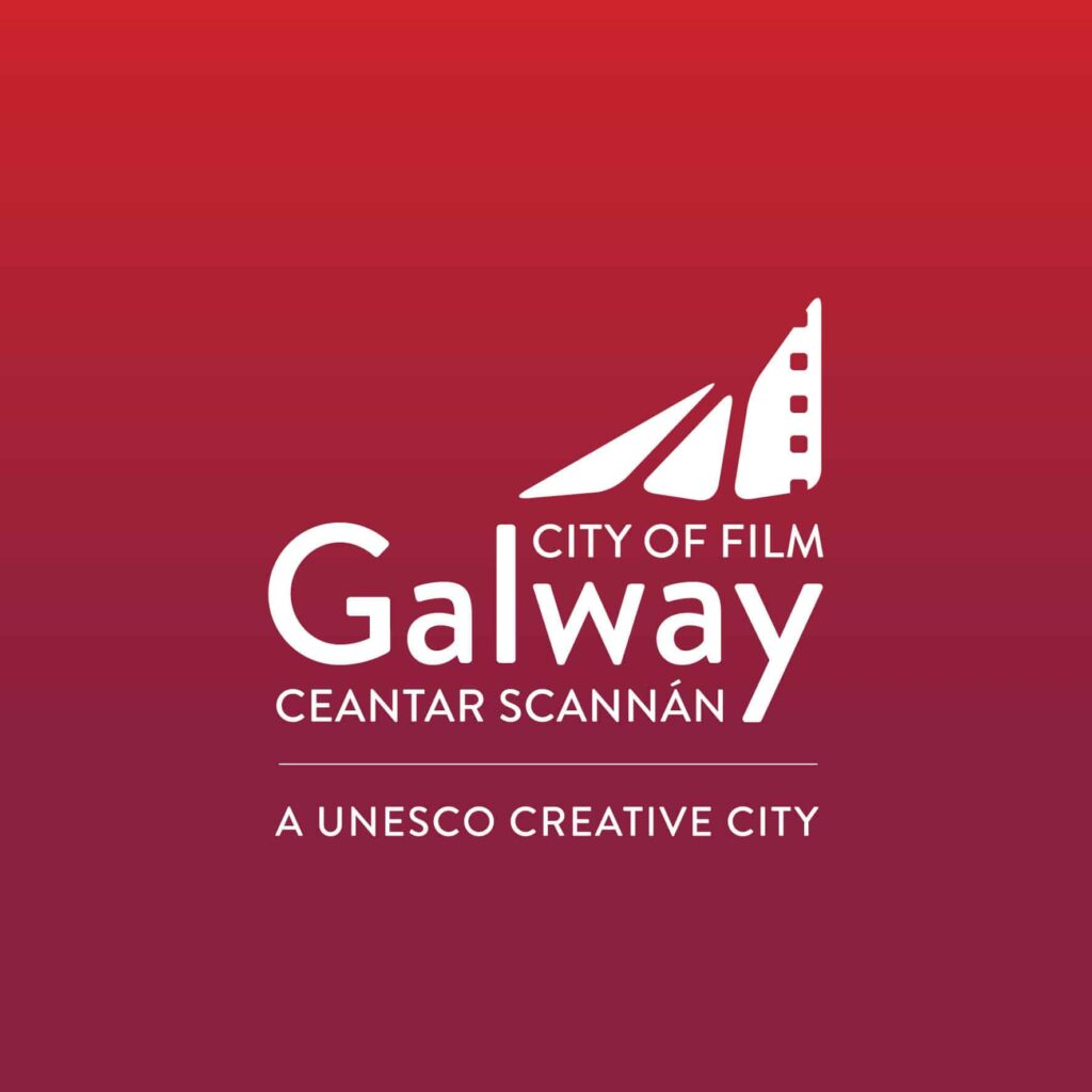 Galway City of Film Red logo