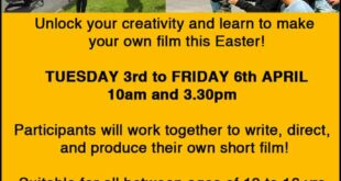 Easter Live Action Filmmaking Camp