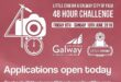 Applications open for #48HrsGalway 2018