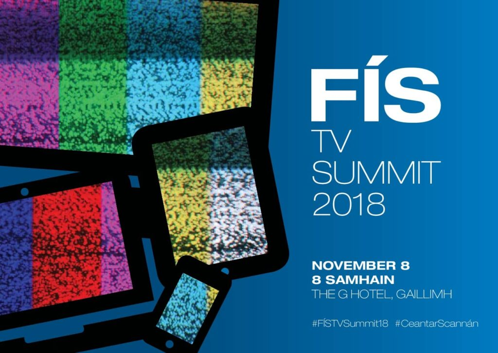 Fís-TV Summit postcard 2018